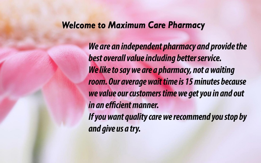 welcome maximumcare